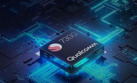 Snapdragon™ 730Gを搭載した高速パフォーマンス