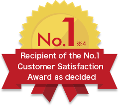 Our service was awarded as the No.1  Customer Satisfaction Award as decided